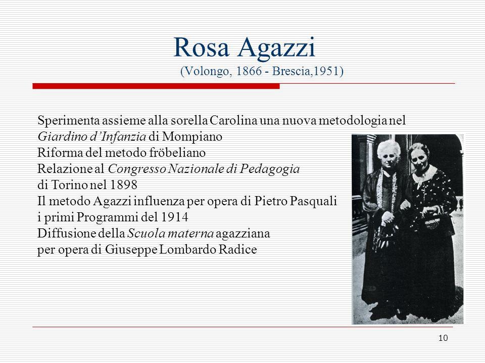 Rosa Agazzi (Volongo, 1866 - Brescia,1951)