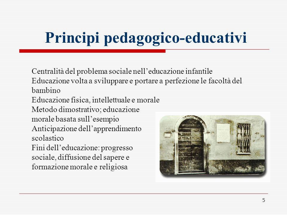 Principi pedagogico-educativi