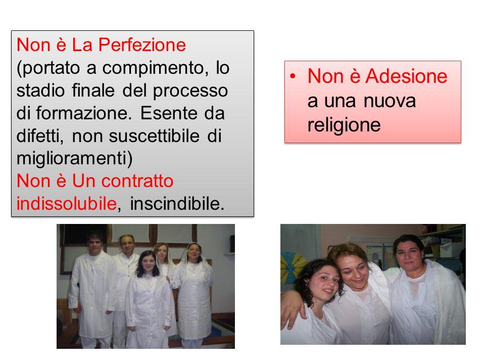 Non è Adesione a una nuova religione