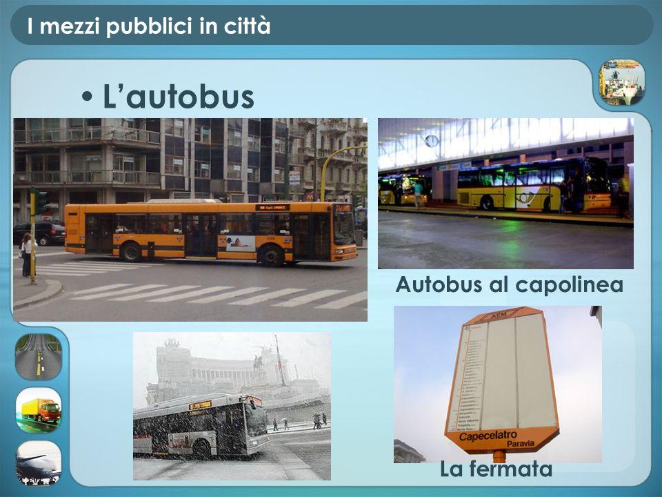 I mezzi pubblici in città