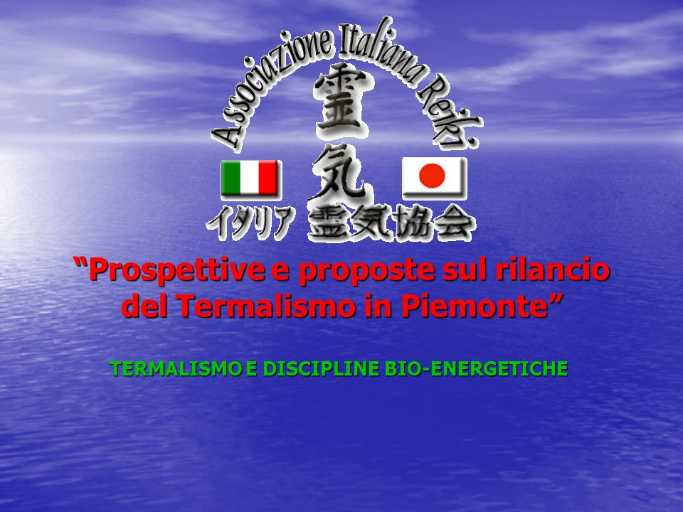 Prospettive e proposte sul rilancio del Termalismo in Piemonte