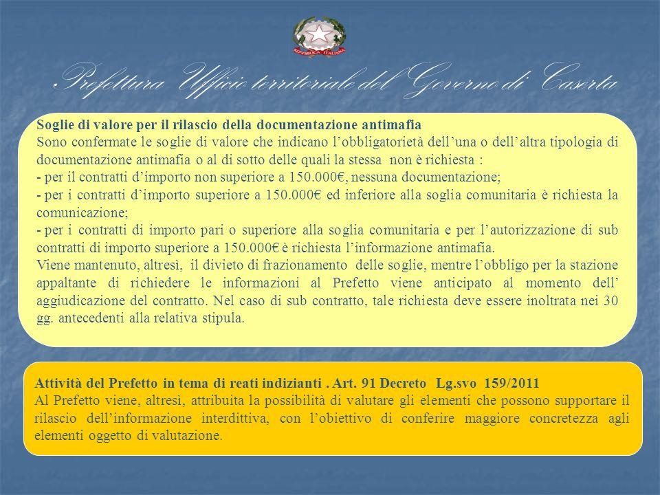 Prefettura Ufficio territoriale del Governo di Caserta