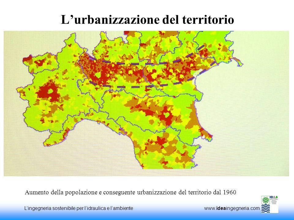 L'urbanizzazione del territorio