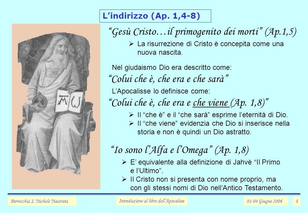 Gesù Cristo…il primogenito dei morti (Ap.1,5)