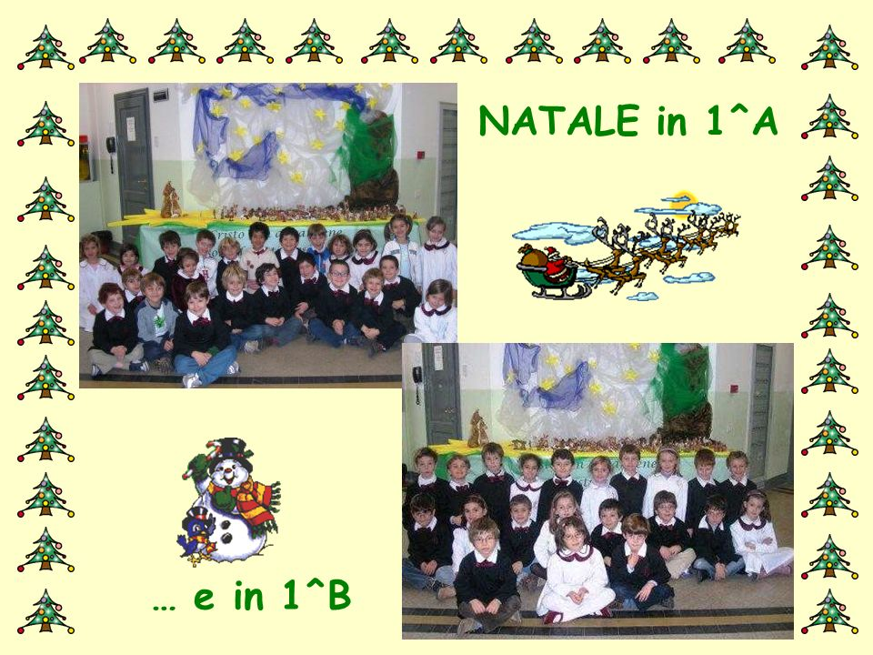 NATALE in 1^A… NATALE in 1^A…
