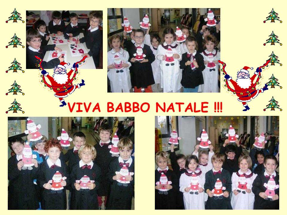VIVA BABBO NATALE !!! … e in 1^B