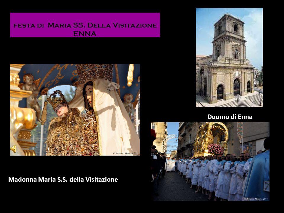 festa di Maria SS. Della Visitazione ENNA