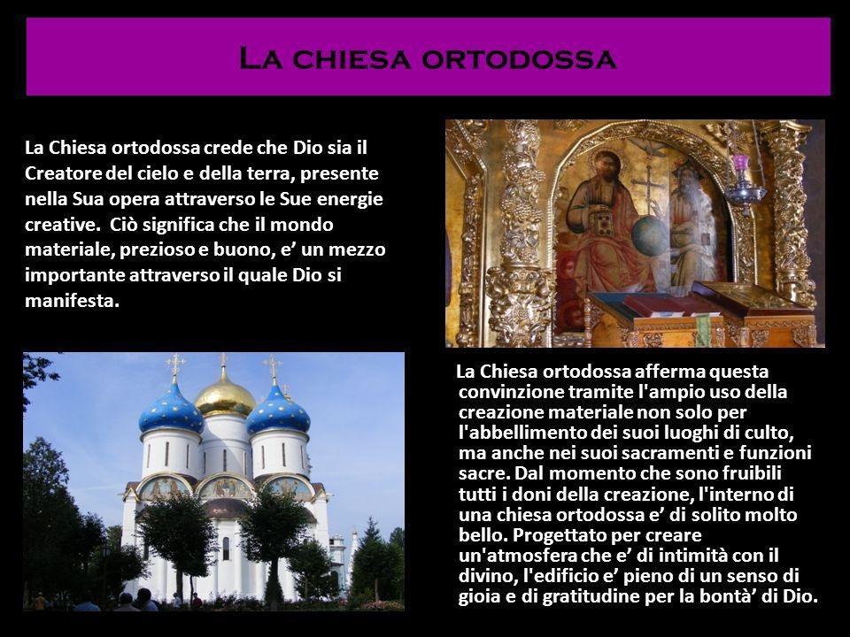 La chiesa ortodossa