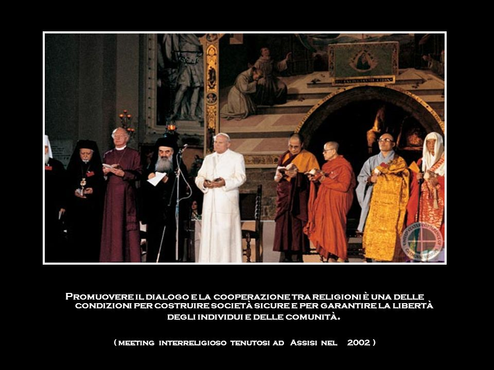 ( meeting interreligioso tenutosi ad Assisi nel 2002 )