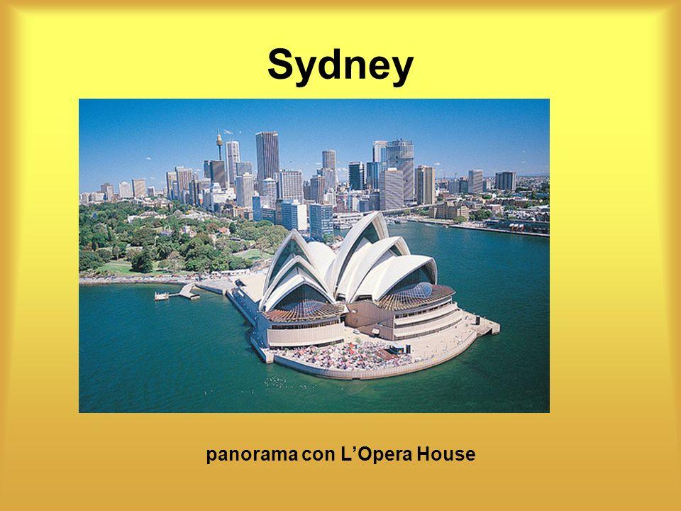 panorama con L'Opera House