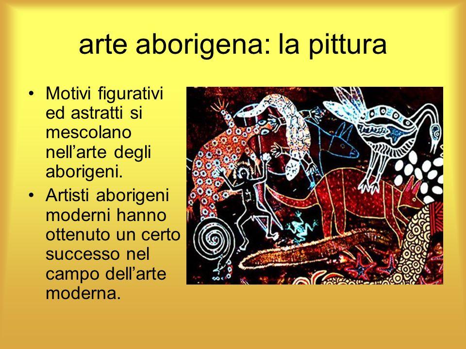 arte aborigena: la pittura