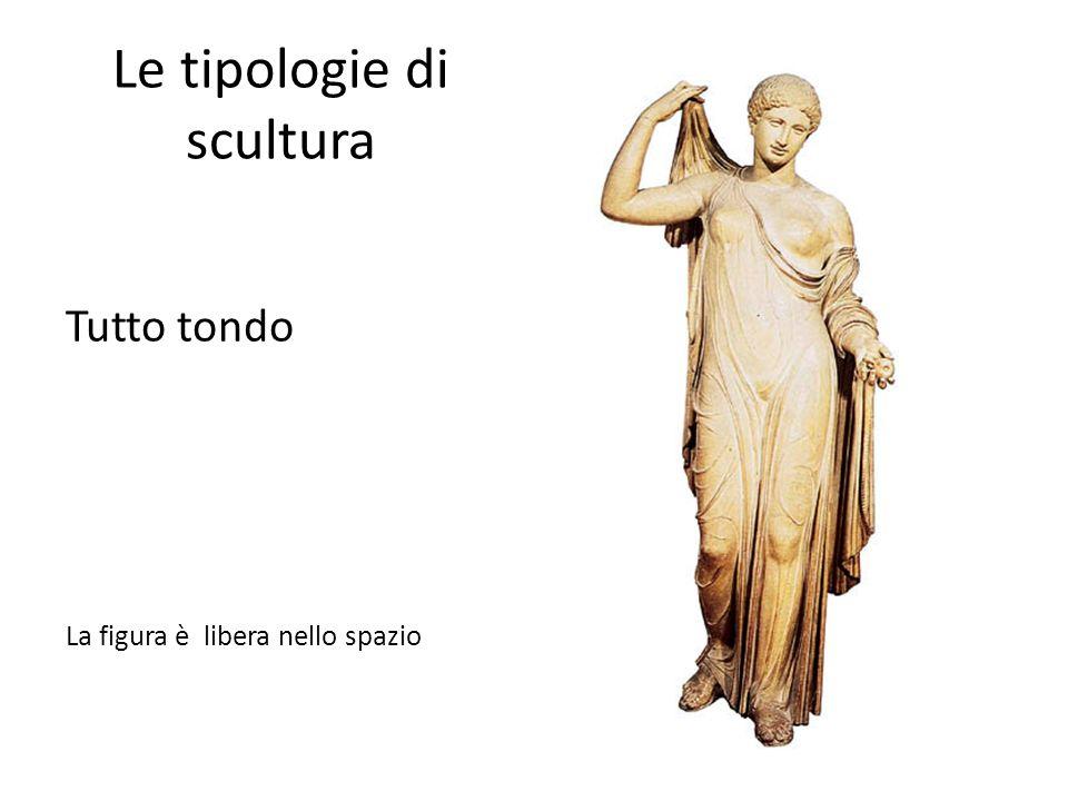 Le tipologie di scultura