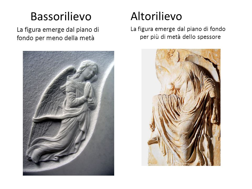 Bassorilievo Altorilievo