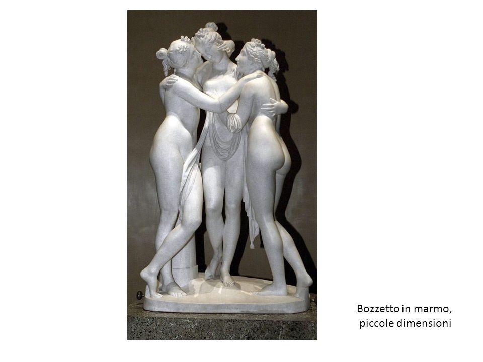 Bozzetto in marmo, piccole dimensioni