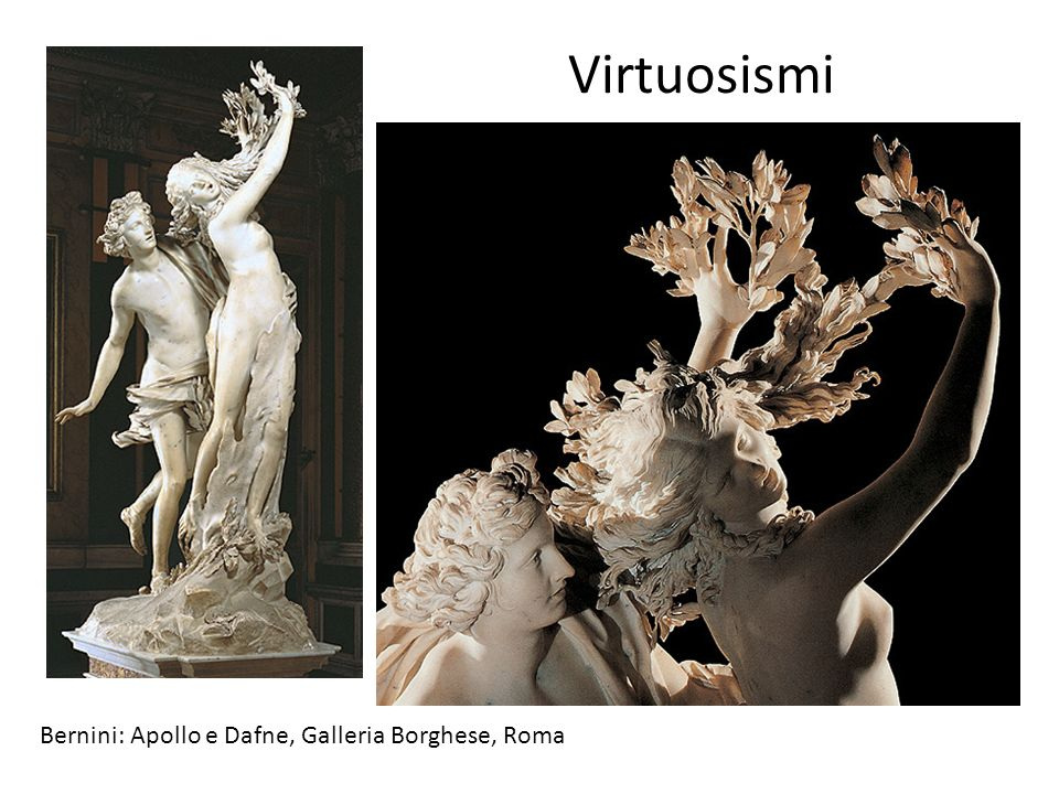 Virtuosismi Bernini: Apollo e Dafne, Galleria Borghese, Roma