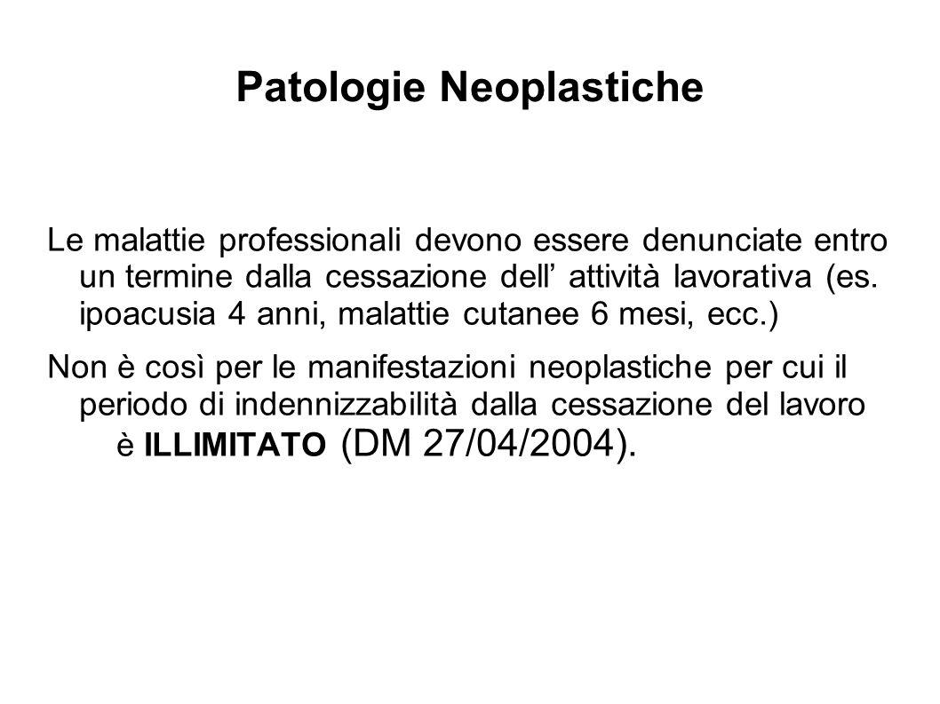 Patologie Neoplastiche