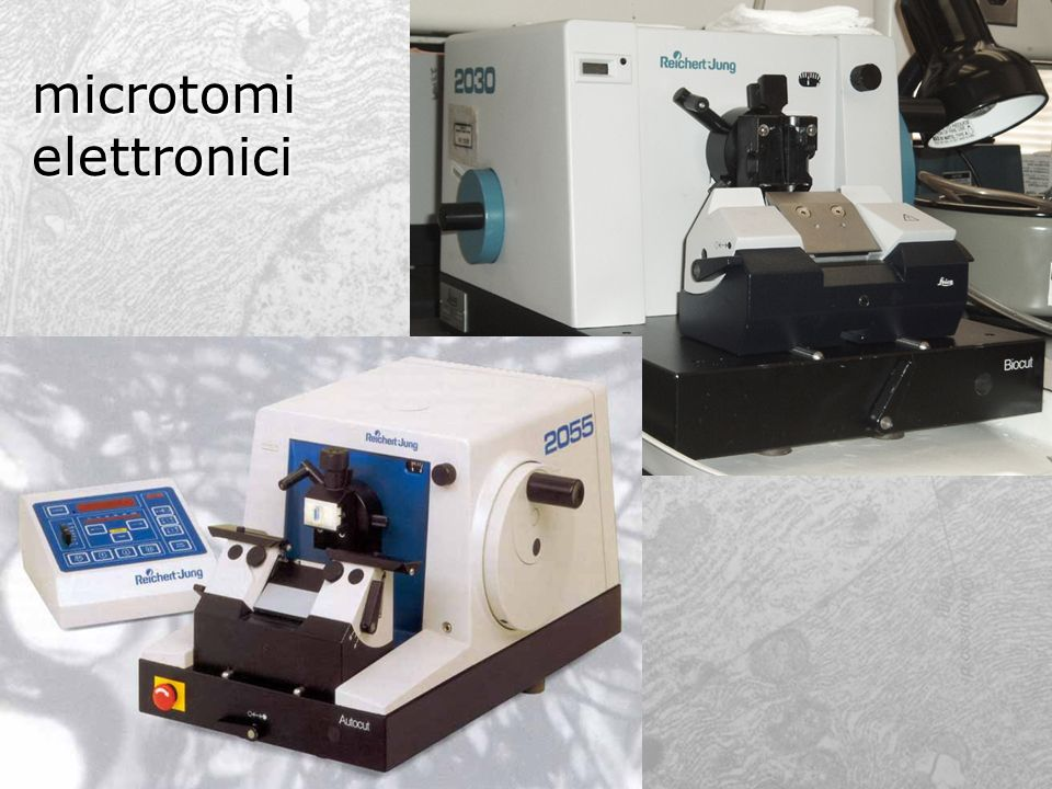 microtomi elettronici
