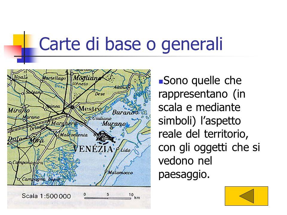 Carte di base o generali