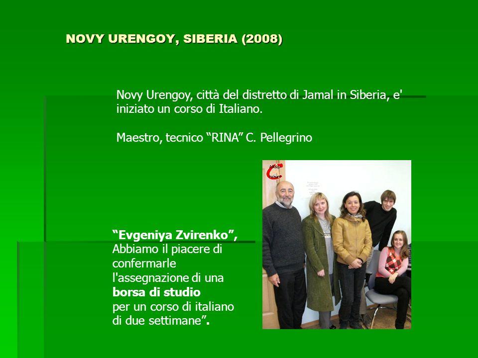 NOVY URENGOY, SIBERIA (2008)