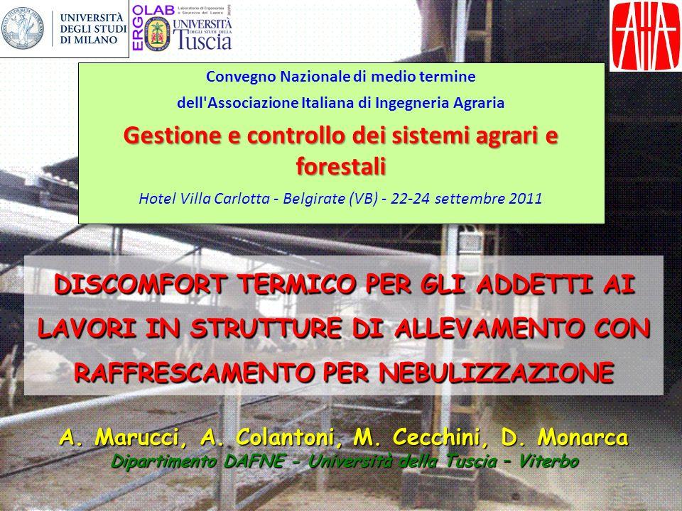 Gestione e controllo dei sistemi agrari e forestali