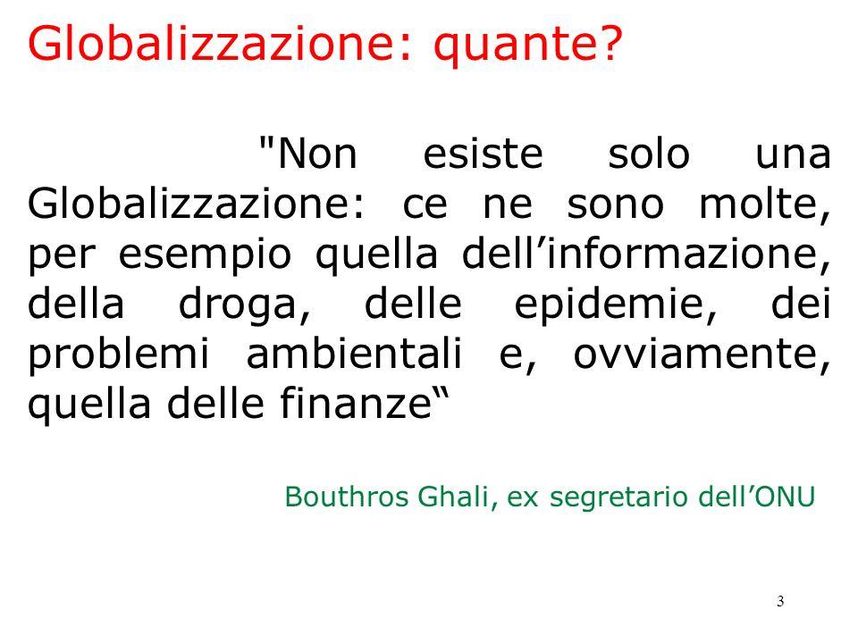Globalizzazione: quante