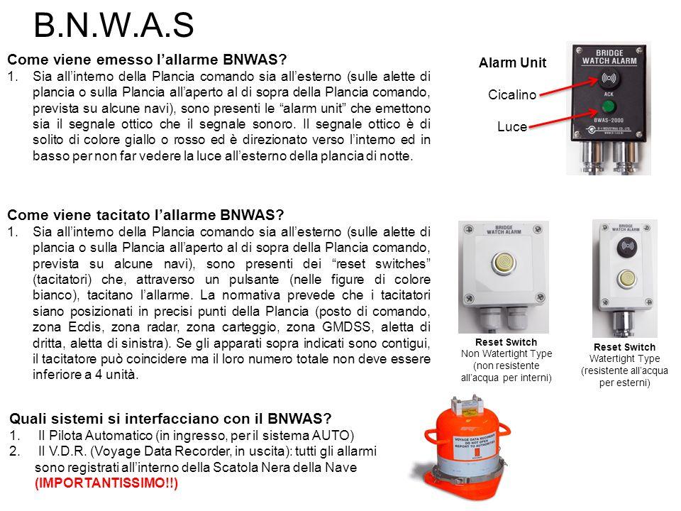 B.N.W.A.S Come viene emesso l'allarme BNWAS