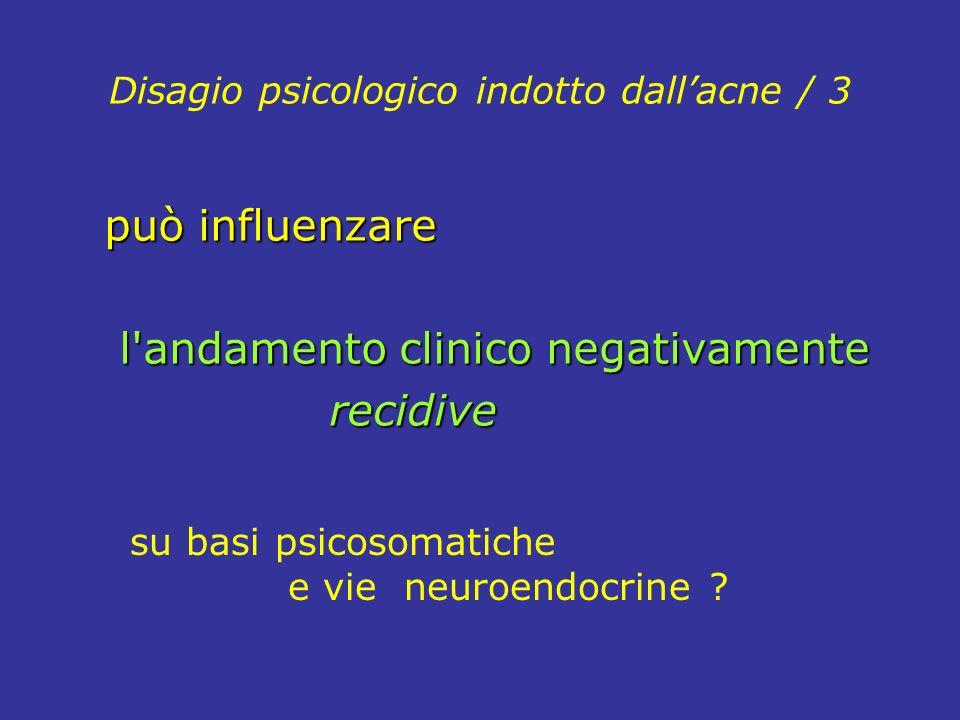 Disagio psicologico indotto dall'acne / 3
