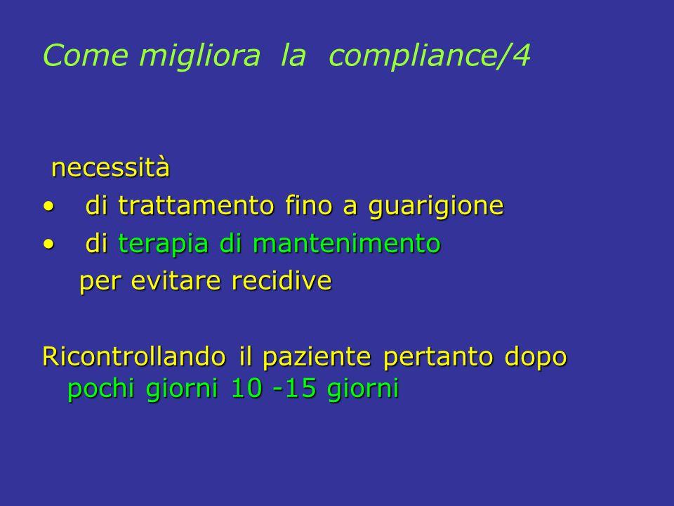 Come migliora la compliance/4
