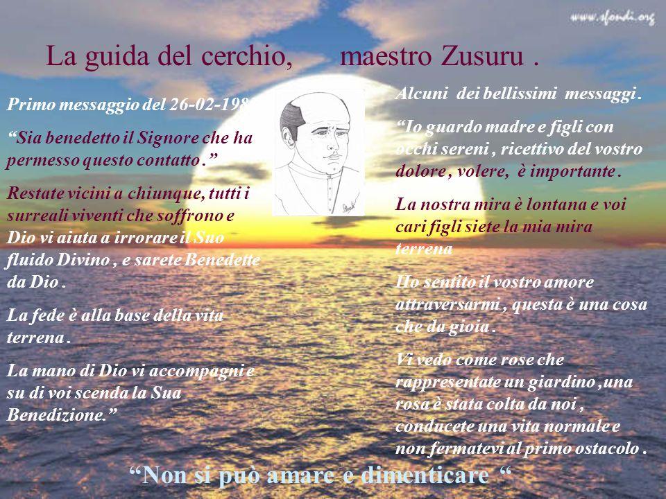 La guida del cerchio, maestro Zusuru .