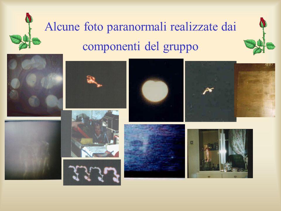 Alcune foto paranormali realizzate dai componenti del gruppo