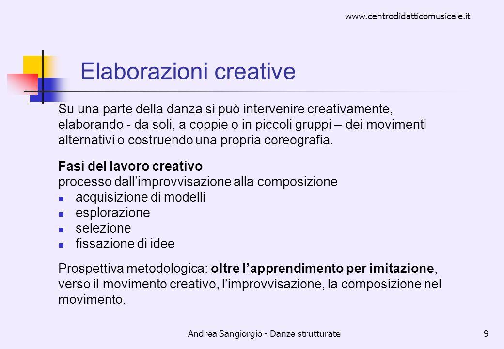 Elaborazioni creative