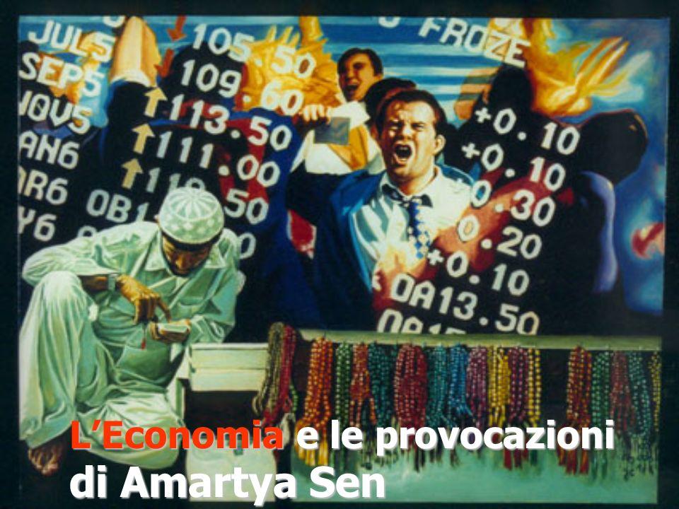 L'Economia e le provocazioni di Amartya Sen