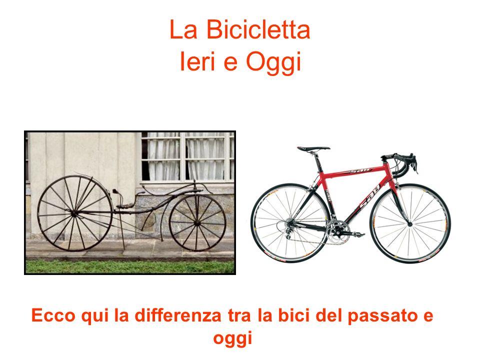 La Bicicletta Ieri e Oggi