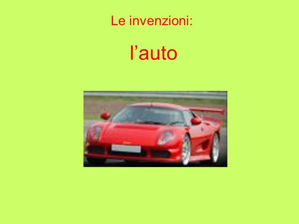 Le invenzioni: l'auto