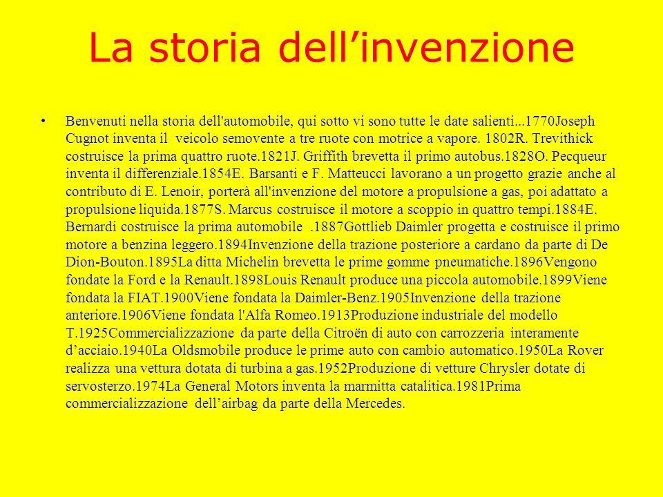 La storia dell'invenzione