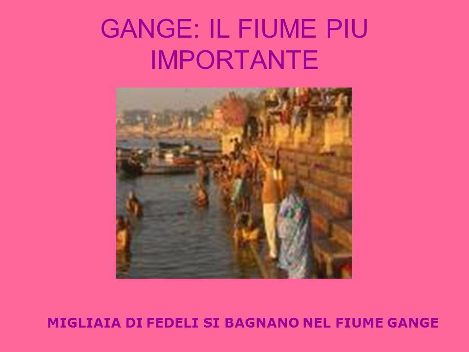 GANGE: IL FIUME PIU IMPORTANTE