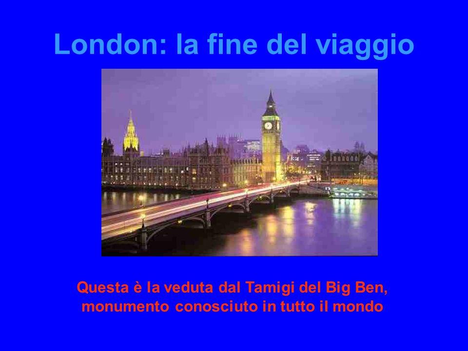 London: la fine del viaggio