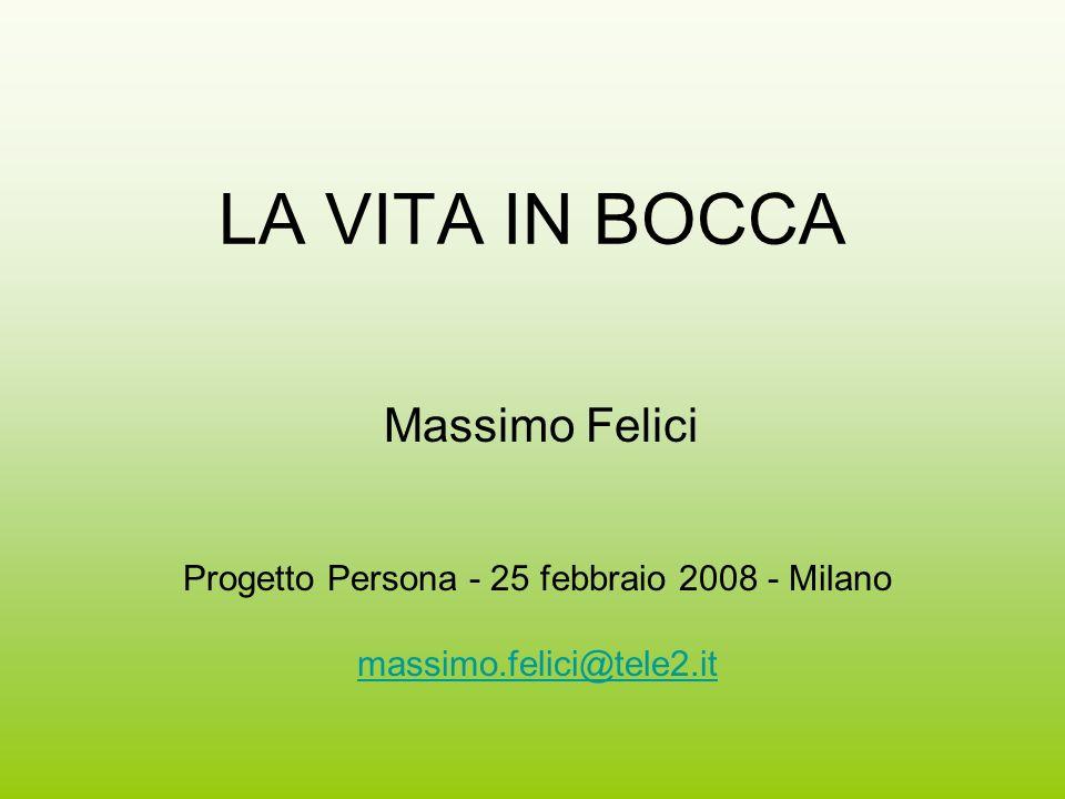 Progetto Persona - 25 febbraio 2008 - Milano
