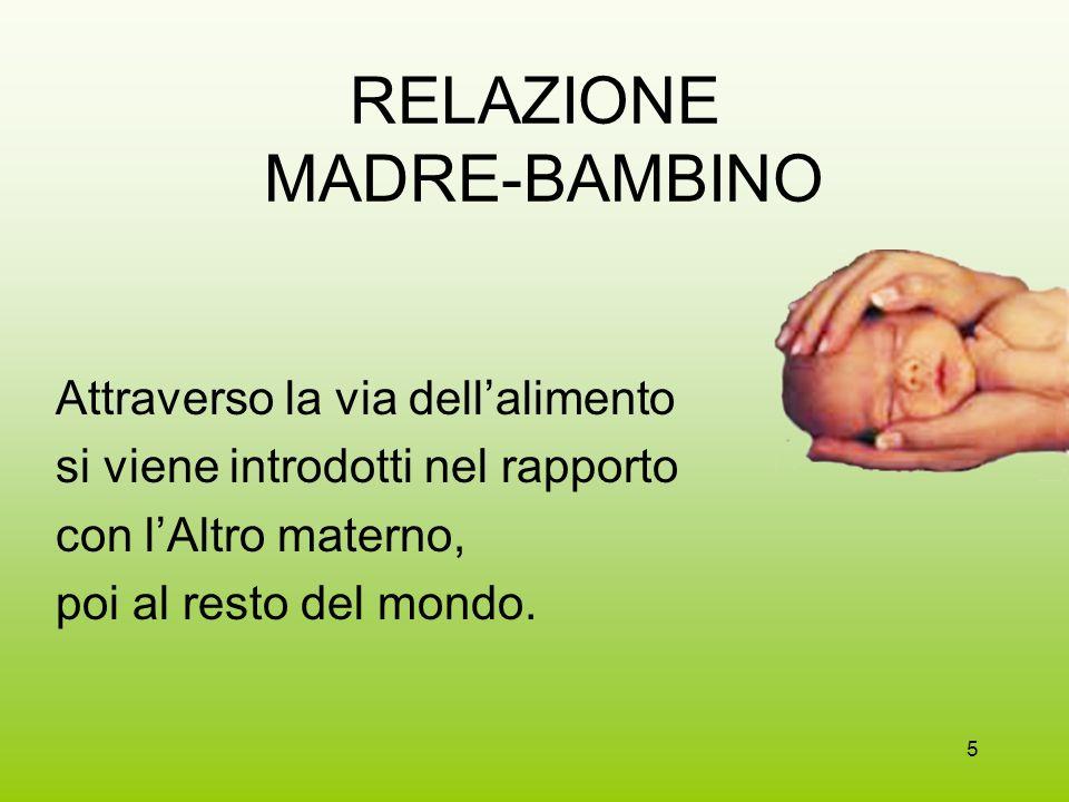 RELAZIONE MADRE-BAMBINO