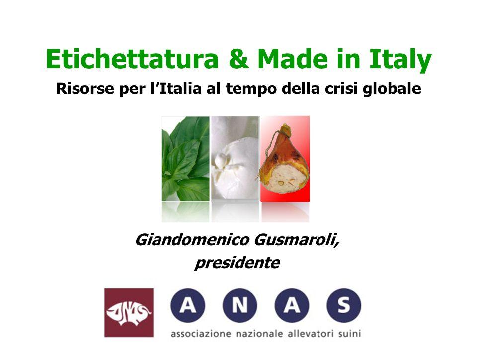 Etichettatura & Made in Italy