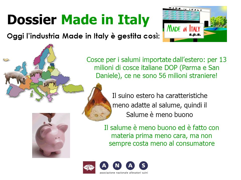 Oggi l'industria Made in Italy è gestita così: