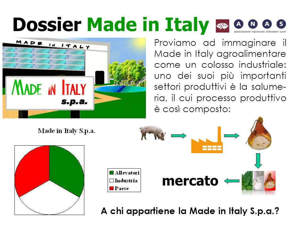 A chi appartiene la Made in Italy S.p.a.