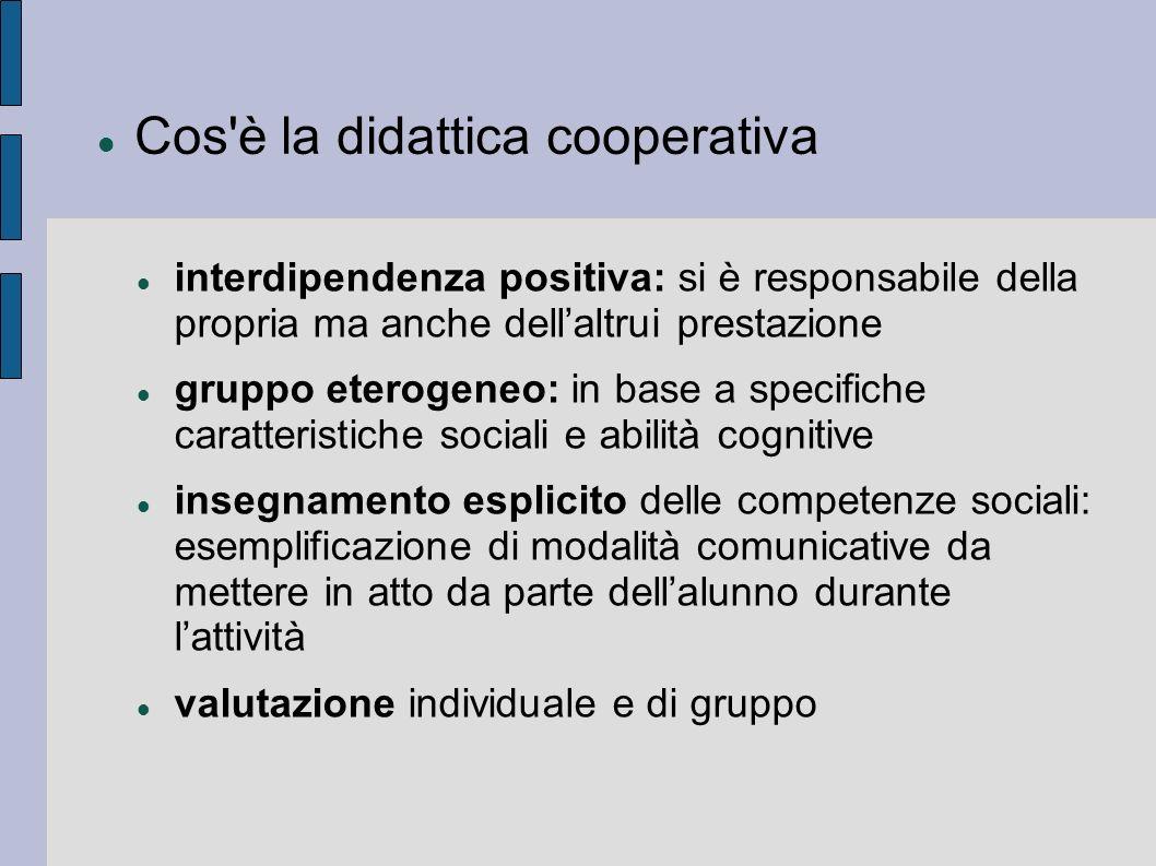 Cos è la didattica cooperativa