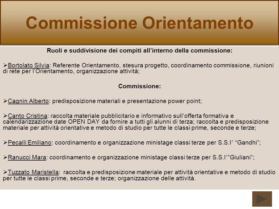 Commissione Orientamento