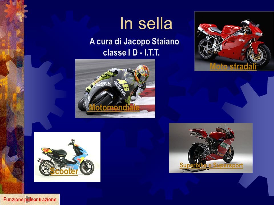 A cura di Jacopo Staiano classe I D - I.T.T. Funzione pulsanti azione