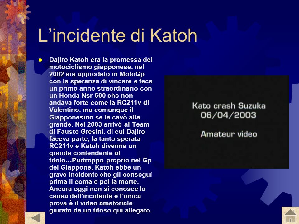 L'incidente di Katoh