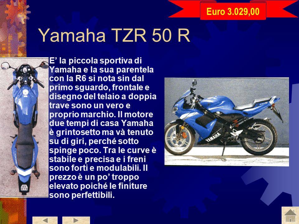 Euro 3.029,00 Yamaha TZR 50 R.