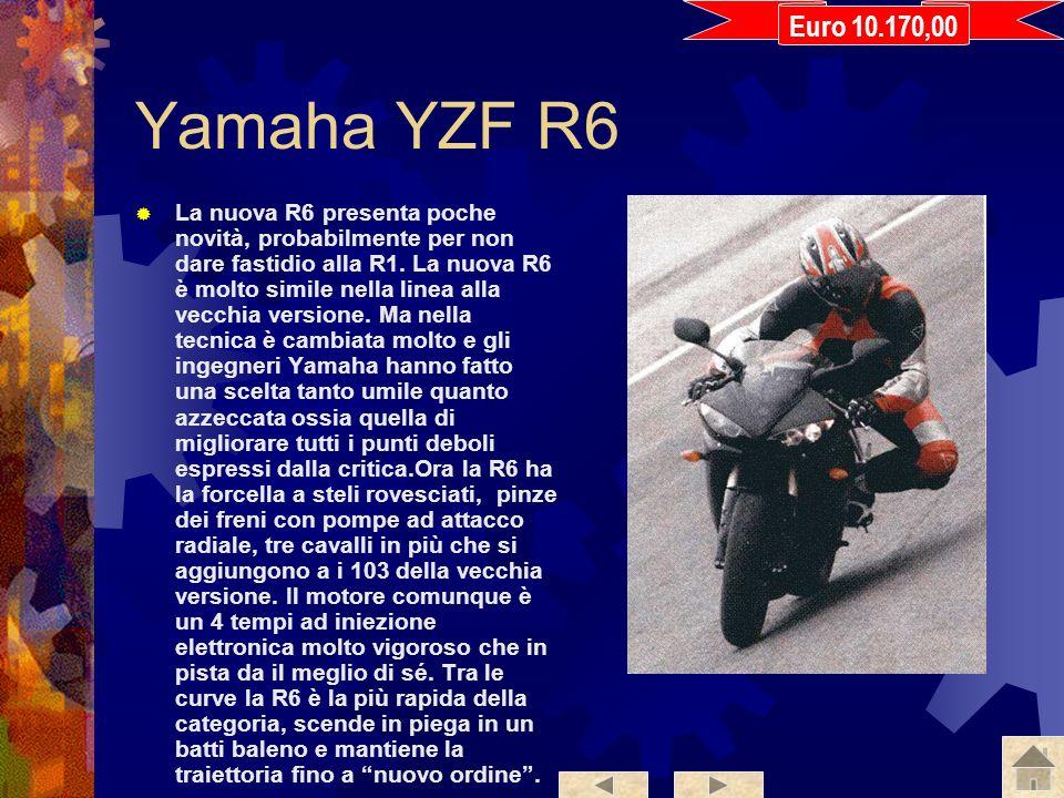 Euro 10.170,00 Yamaha YZF R6.