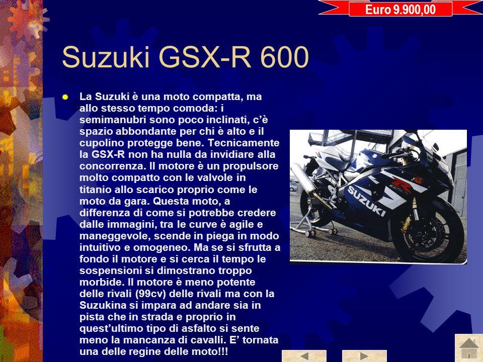 Euro 9.900,00 Suzuki GSX-R 600.
