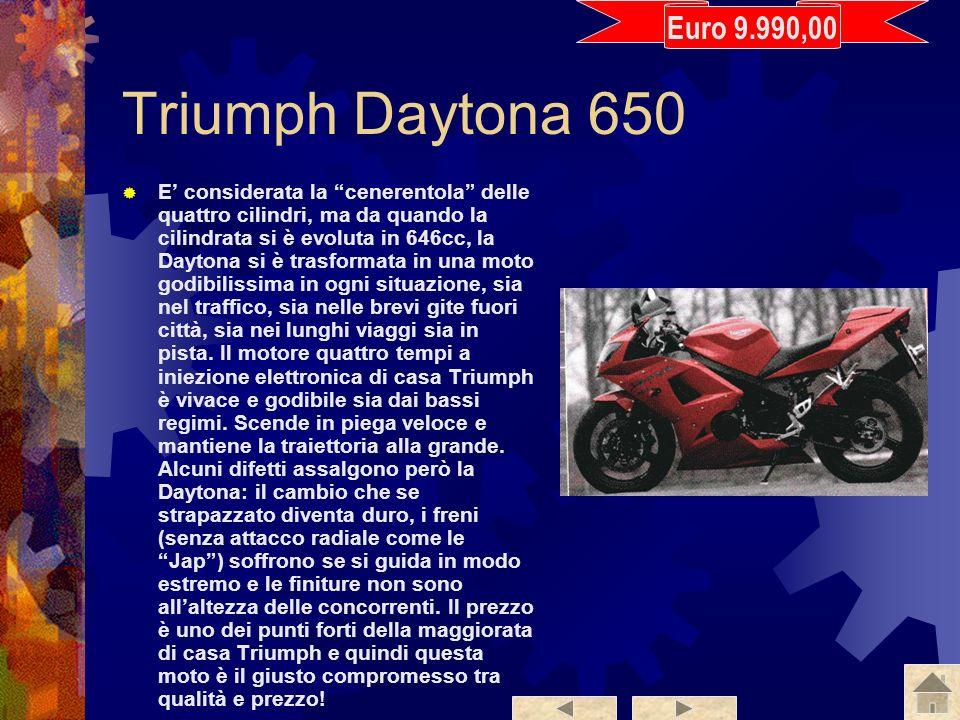 Euro 9.990,00 Triumph Daytona 650.